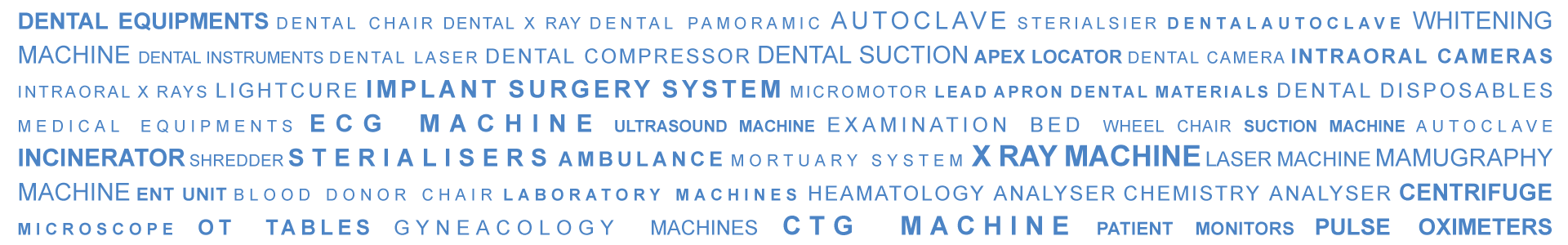 Dental equipment and Instrument Suppliers in Dubai